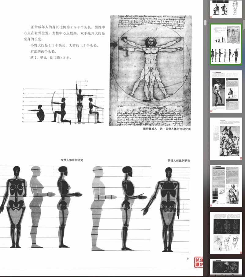 学习人体结构的电子书籍《艺用人体解剖》扫描版 收集整理 第1张