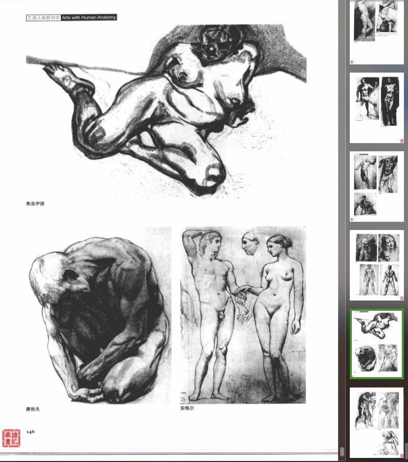 学习人体结构的电子书籍《艺用人体解剖》扫描版 收集整理 第3张