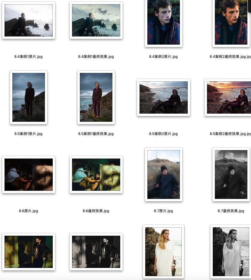 《修图师自我修养》正文大分辨率图片练习素材下载 图片素材 第4张