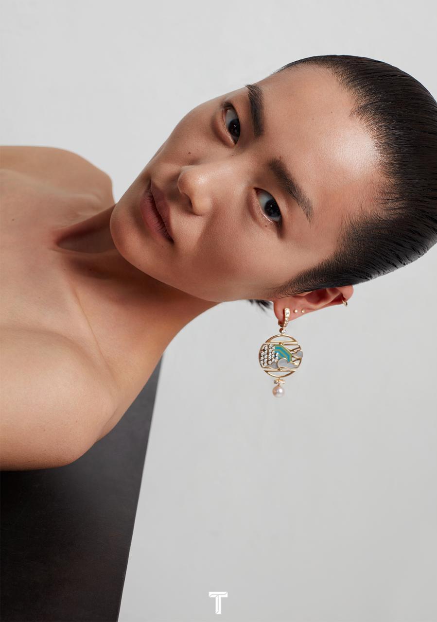 刘雯《T Magazine 风尚志》2018年9月女装时尚 时尚图库 第4张