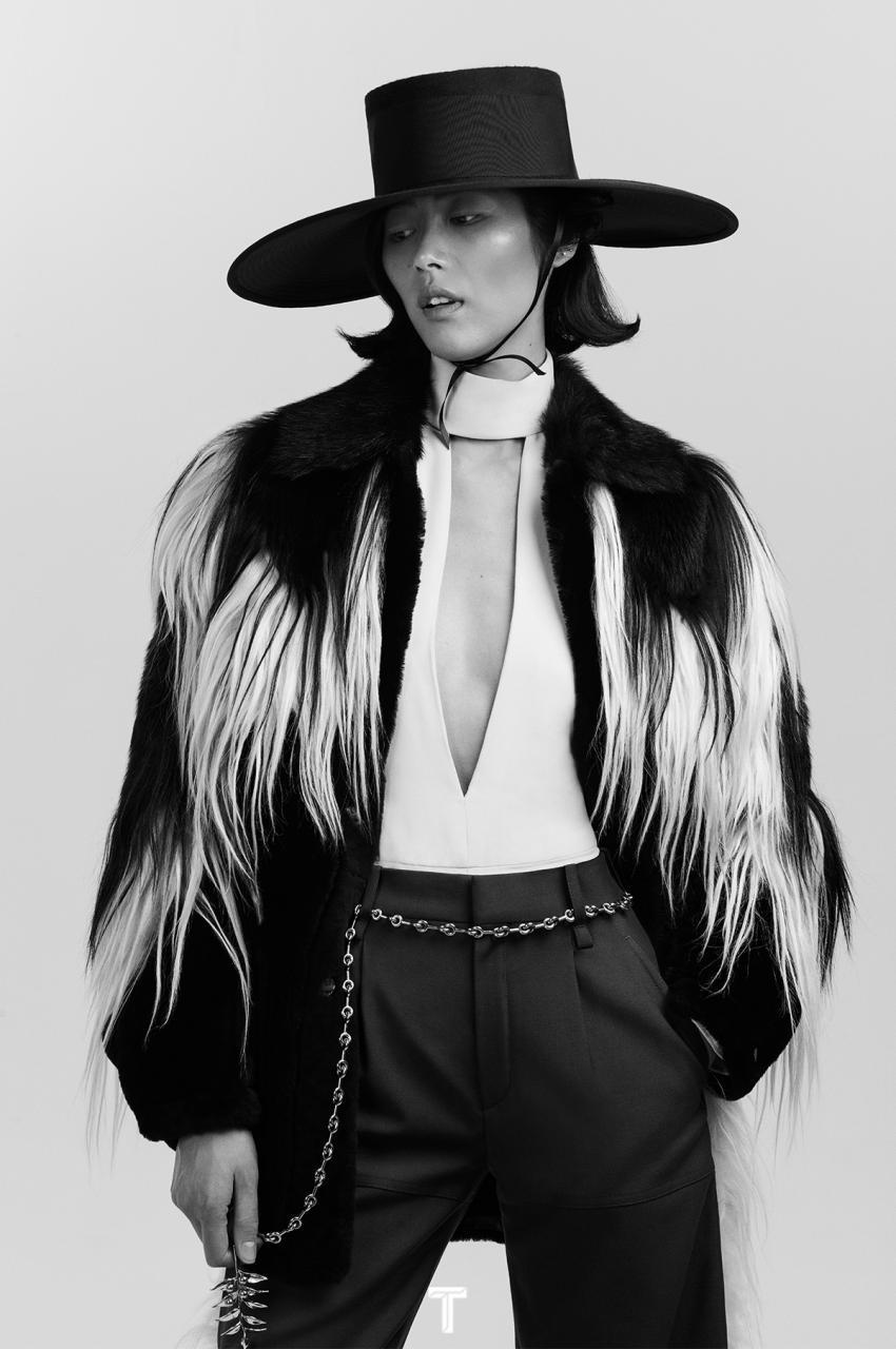 刘雯《T Magazine 风尚志》2018年9月女装时尚 时尚图库 第3张