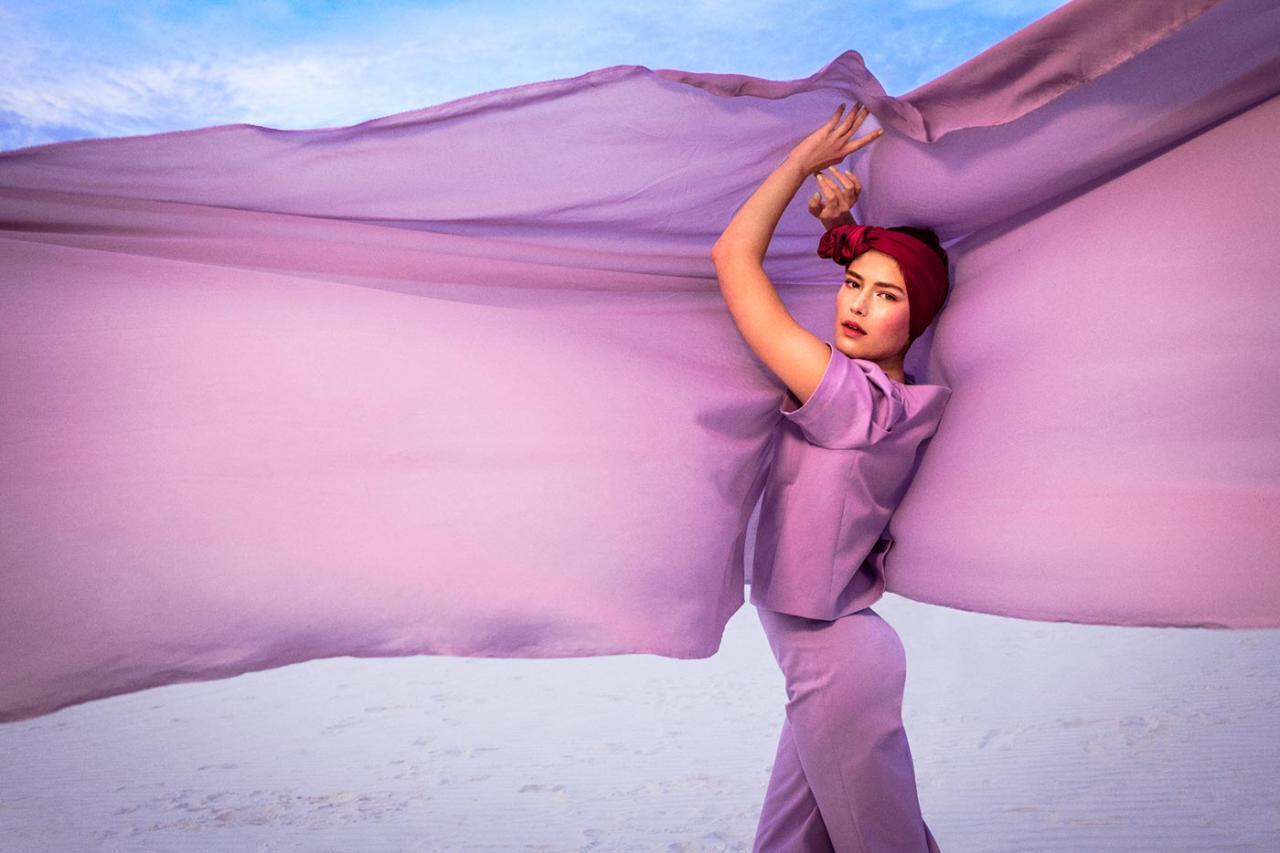 Elizaveta Porodina 摄影作品 The White Sands 服装色彩搭配 时尚图库 第8张