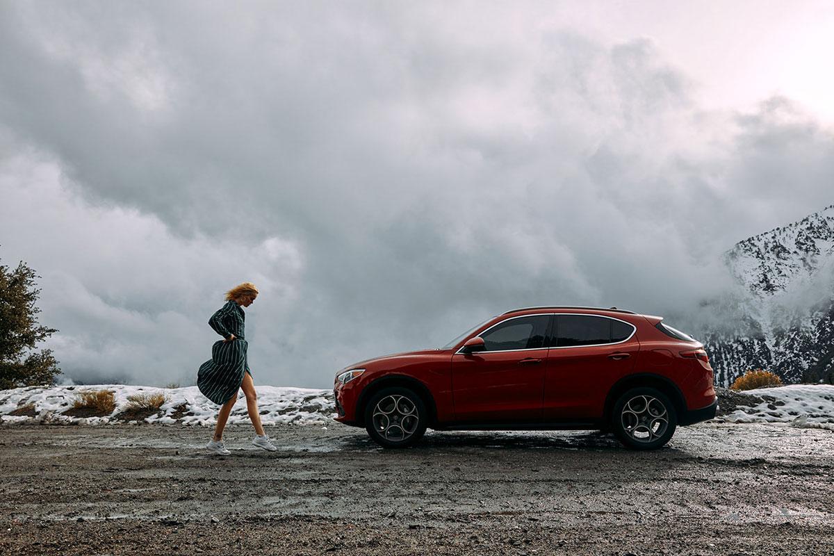 摄影师Dave Hill摄影作品Alfa Romeo Stelvio 审美灵感 第4张