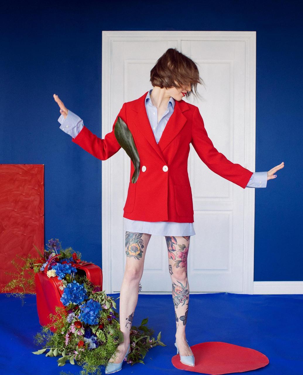 乌克兰摄影是marta syrko 色彩人像作品 for Sasha 时尚图库 第6张