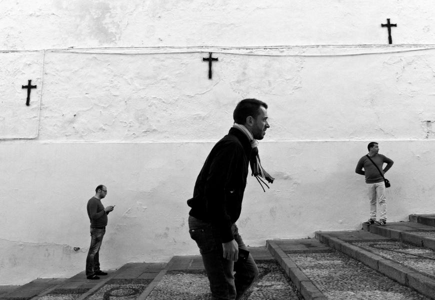 【街头】精彩的镜头瞬间定格照 街头摄影师Antonio E. Ojeda作品 审美灵感 第5张