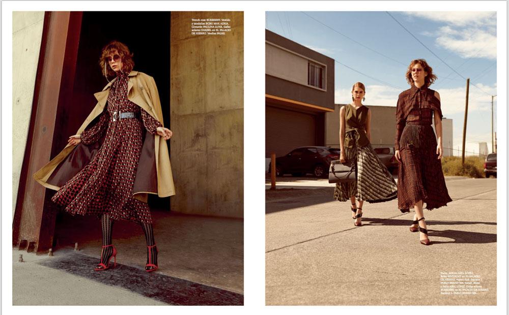 奢侈品旅行杂志摄影作品 外景时尚人像 时尚图库 第6张