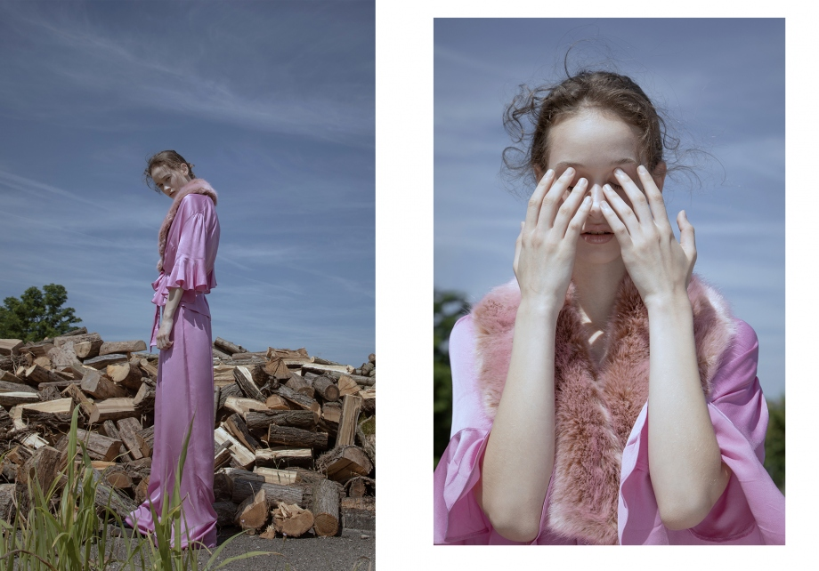《Flanelle》杂志人像 摄影师Lucía Arabian 第二弹 时尚图库 第1张
