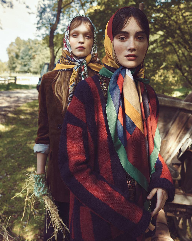 时尚芭莎杂志 外景拍摄时尚人像摄影作品 时尚图库 第4张