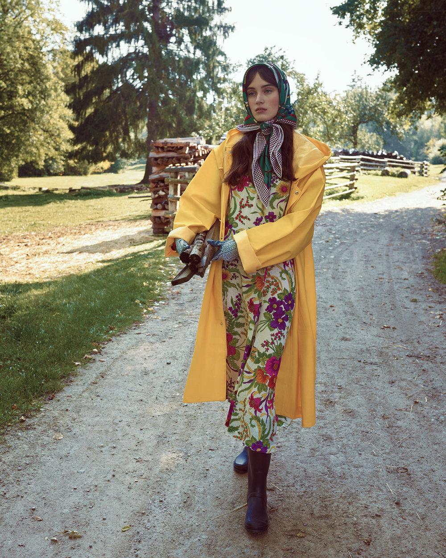 时尚芭莎杂志 外景拍摄时尚人像摄影作品 时尚图库 第10张