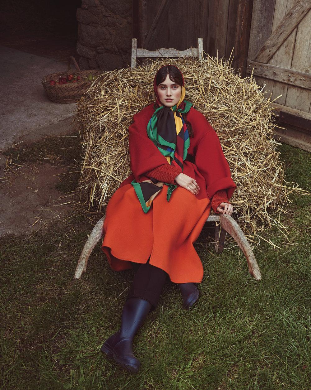 时尚芭莎杂志 外景拍摄时尚人像摄影作品 时尚图库 第11张