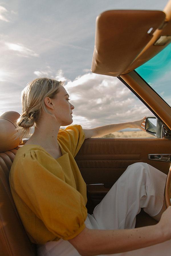 摄影师Monika Ottehenning 外景人像作品【Road】 时尚图库 第1张