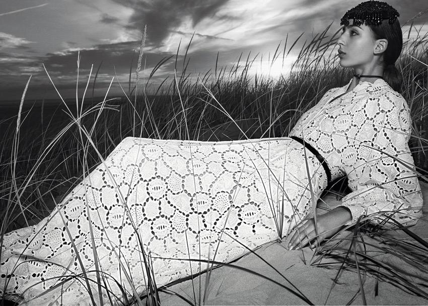 低明度 冷色系 人像摄影作品 视觉效果很棒 时尚图库 第5张