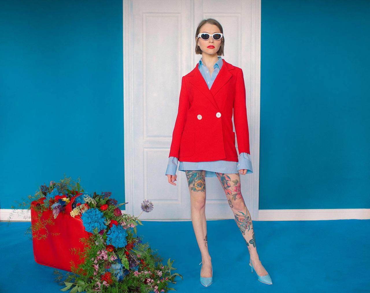 乌克兰摄影是marta syrko 色彩人像作品 for Sasha 时尚图库 第2张