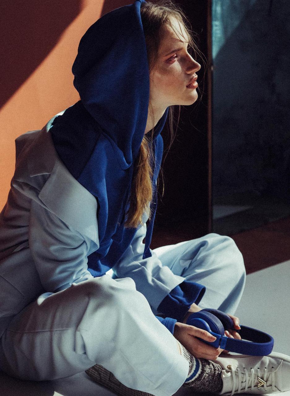 marta syrko 蓝色主题人像摄影作品 审美灵感 第11张