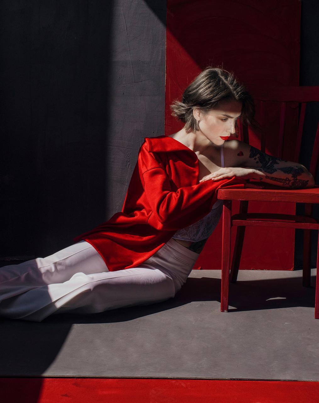 乌克兰摄影是marta syrko 色彩人像作品 for Sasha 时尚图库 第1张