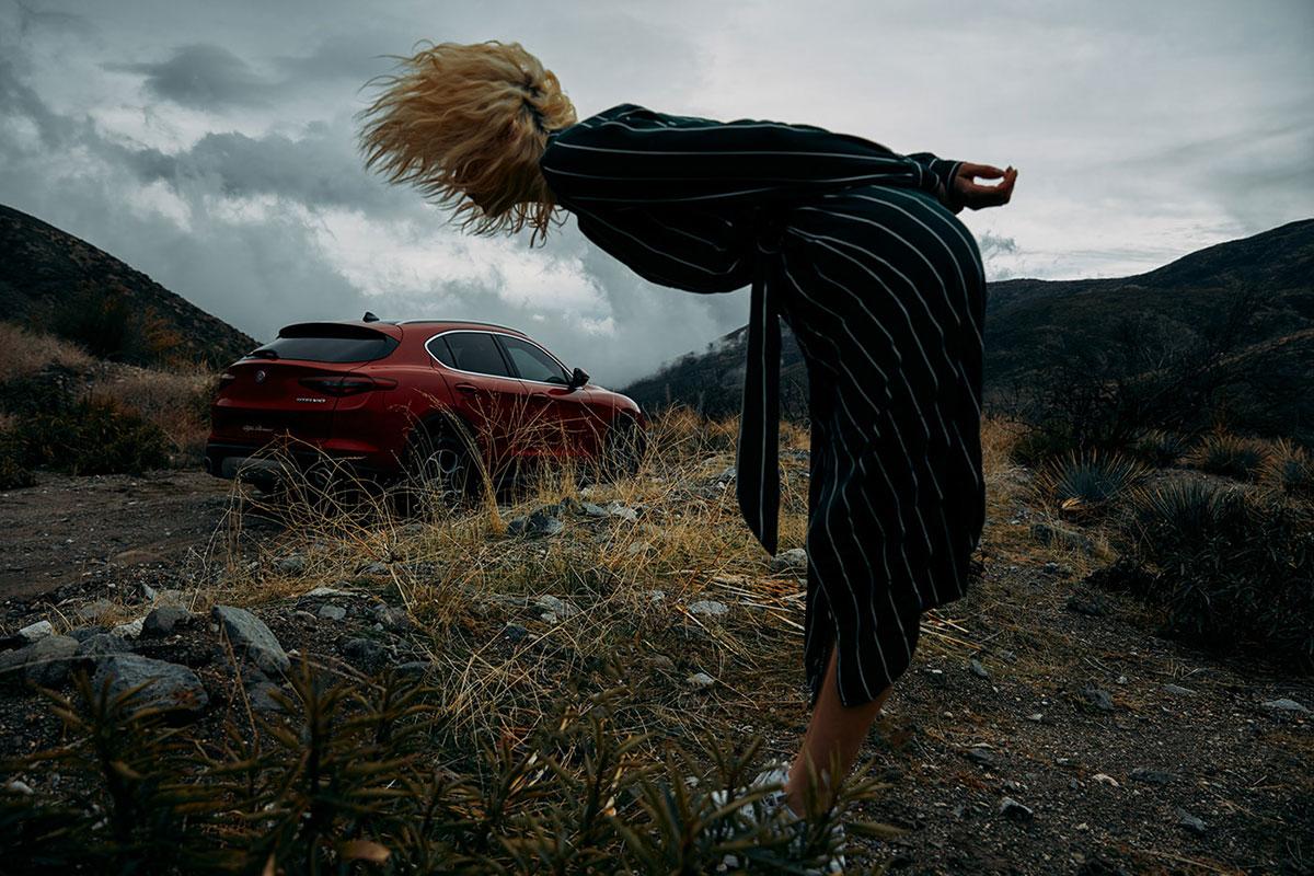 摄影师Dave Hill摄影作品Alfa Romeo Stelvio 审美灵感 第12张