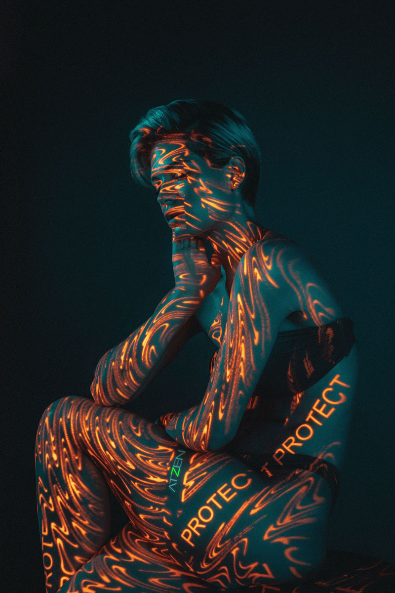 酷炫的创意人像摄影 ATZEN Skin Care // 19TONES 时尚图库 第11张