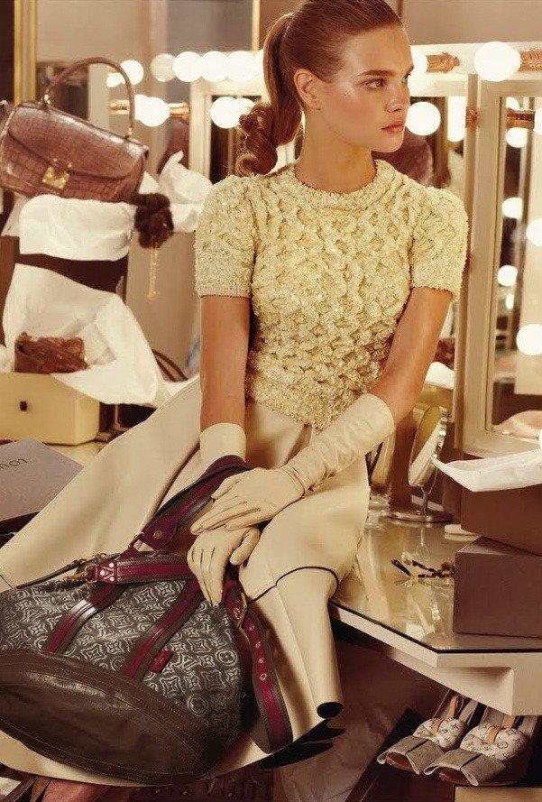 Louis Vuitton 的广告摄影 时尚图库 第4张