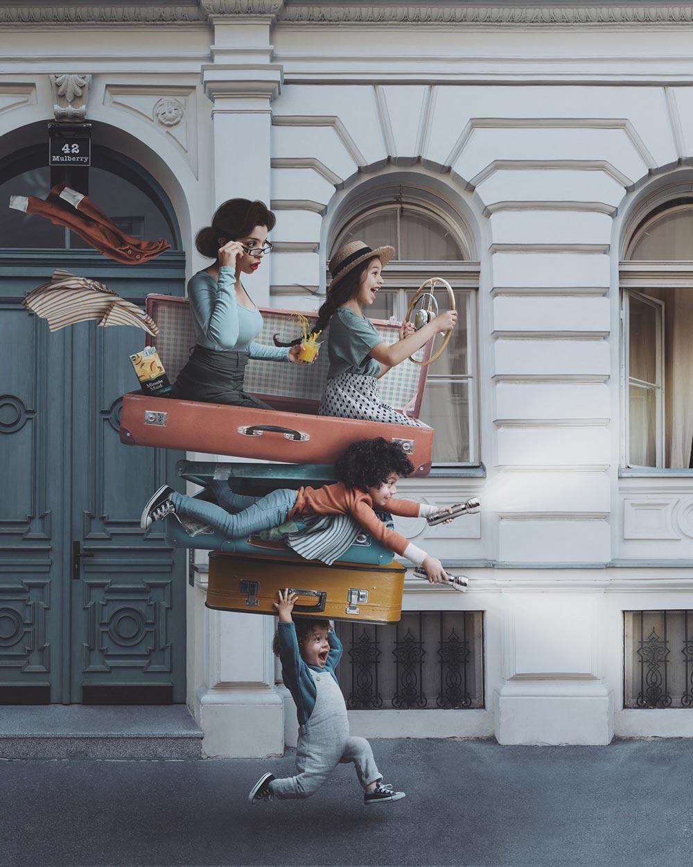 Vanessa Rivera 创意合成人像系列作品 时尚图库 第11张