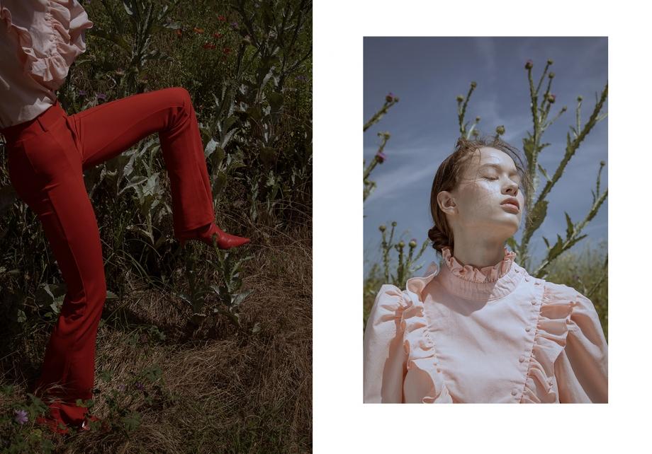 《Flanelle》杂志人像 摄影师Lucía Arabian 第二弹 时尚图库 第4张