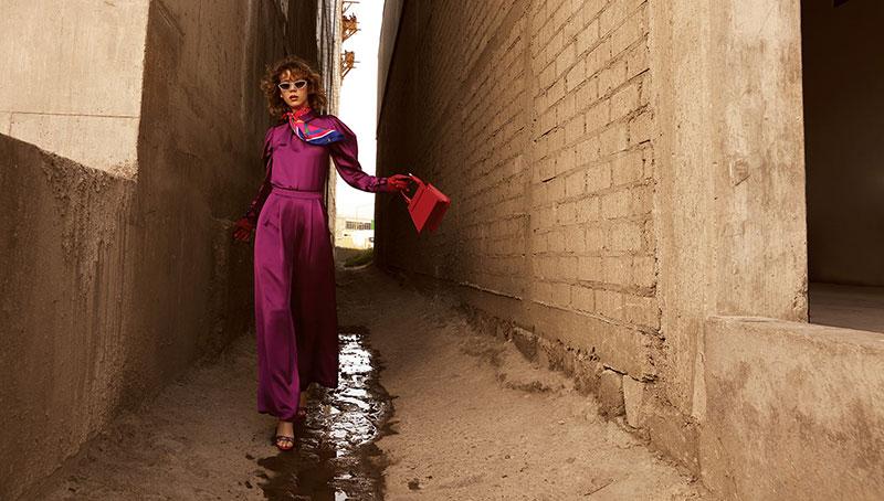 奢侈品旅行杂志摄影作品 外景时尚人像 时尚图库 第9张