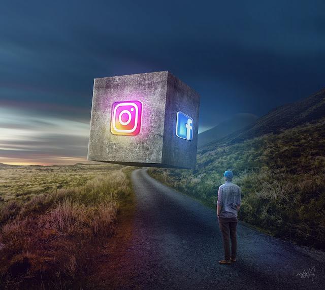 Rafy a 后期合成视频教学 三维立方体Instagram FB照片处理效果 收集整理 第1张