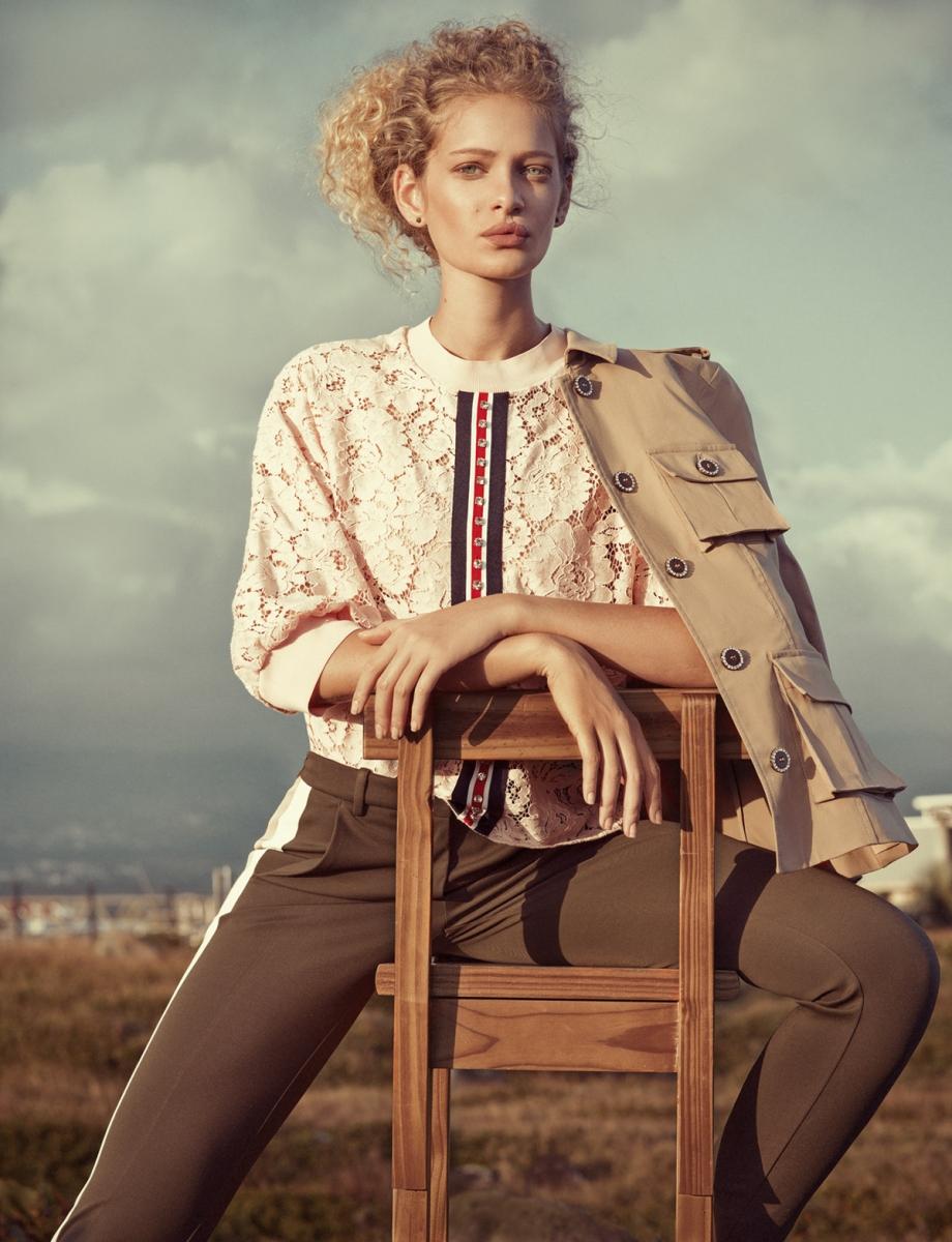 Elena Iv-skaya 人像摄影作品 L'AIR DU TEMPS 时尚图库 第1张