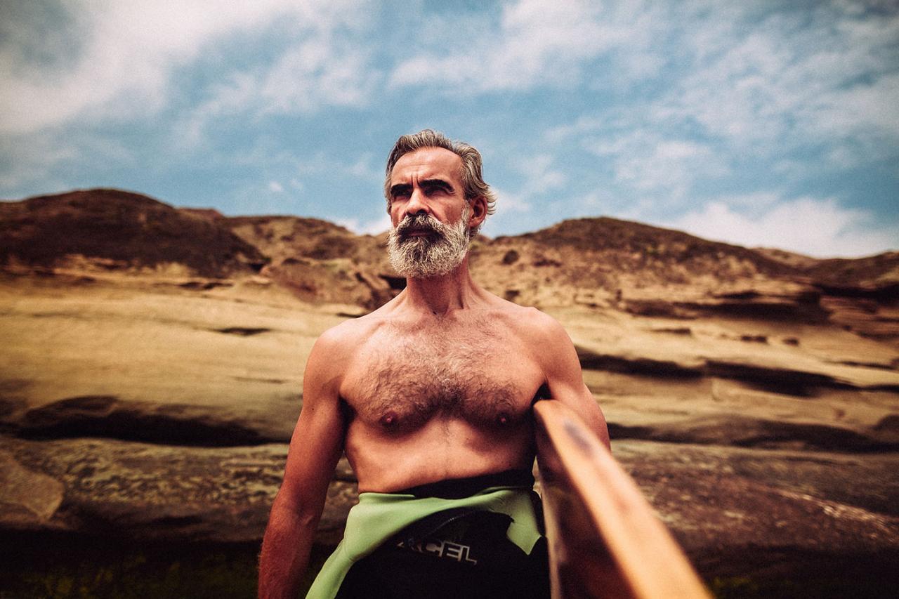 德国摄影师André Josselin 镜头下的运动老人 时尚图库 第13张