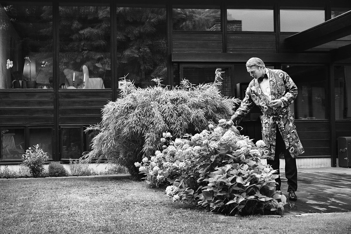 《L'OFFICIEL》杂志刊登了MADS MIKKELSEN的一组时尚片 时尚图库 第7张