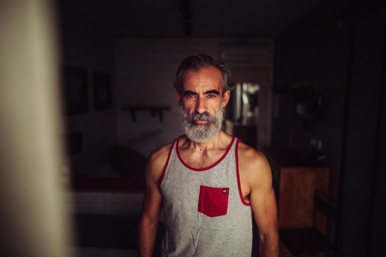德国摄影师André Josselin 镜头下的运动老人 时尚图库 第14张