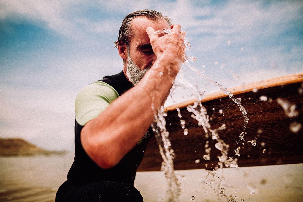 德国摄影师André Josselin 镜头下的运动老人 时尚图库 第12张