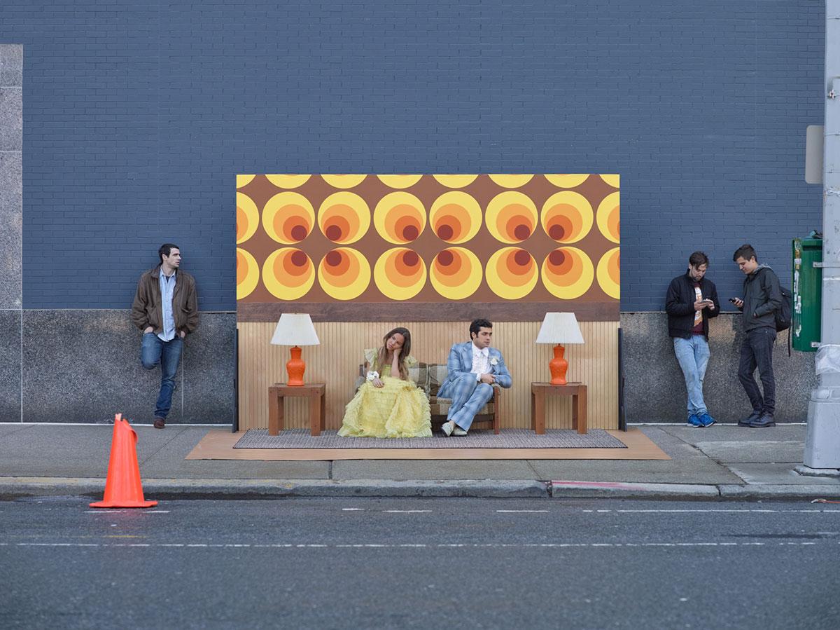 摄影师Justin Bettman 创意摄影作品 SetintheStreet街头实景搭建拍摄 时尚图库 第13张