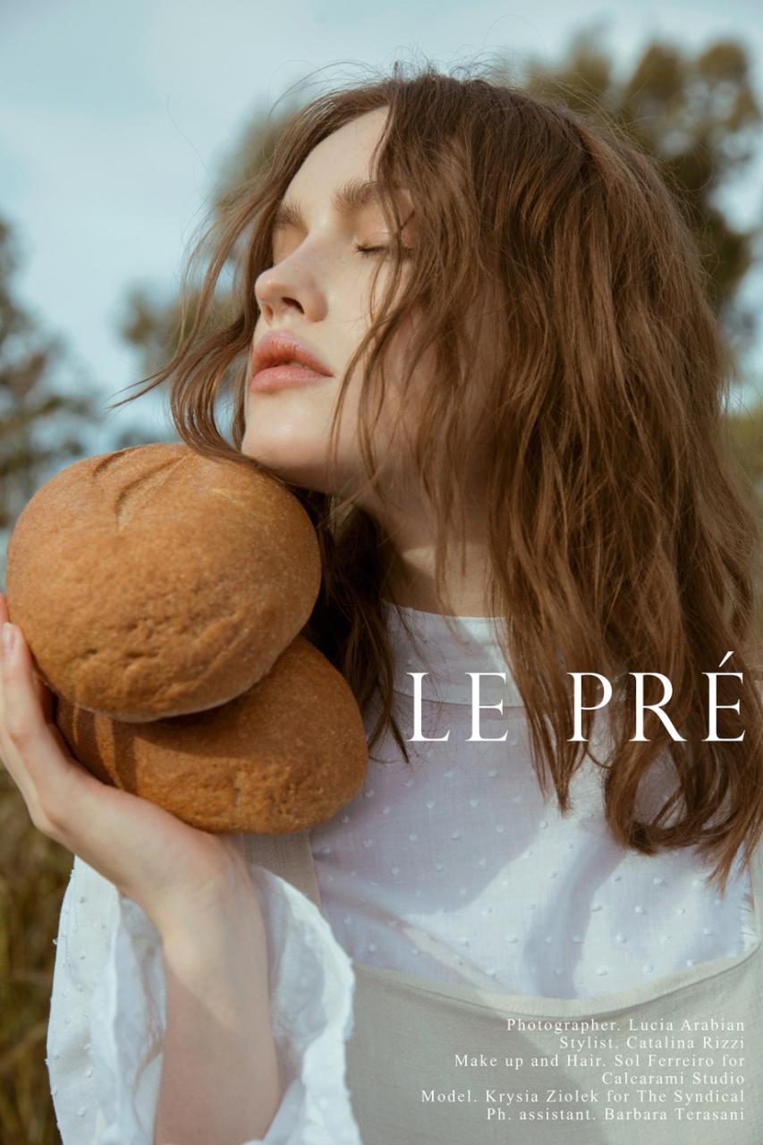 《Flanelle》杂志人像作品 摄影师Lucía Arabian 审美灵感 第2张