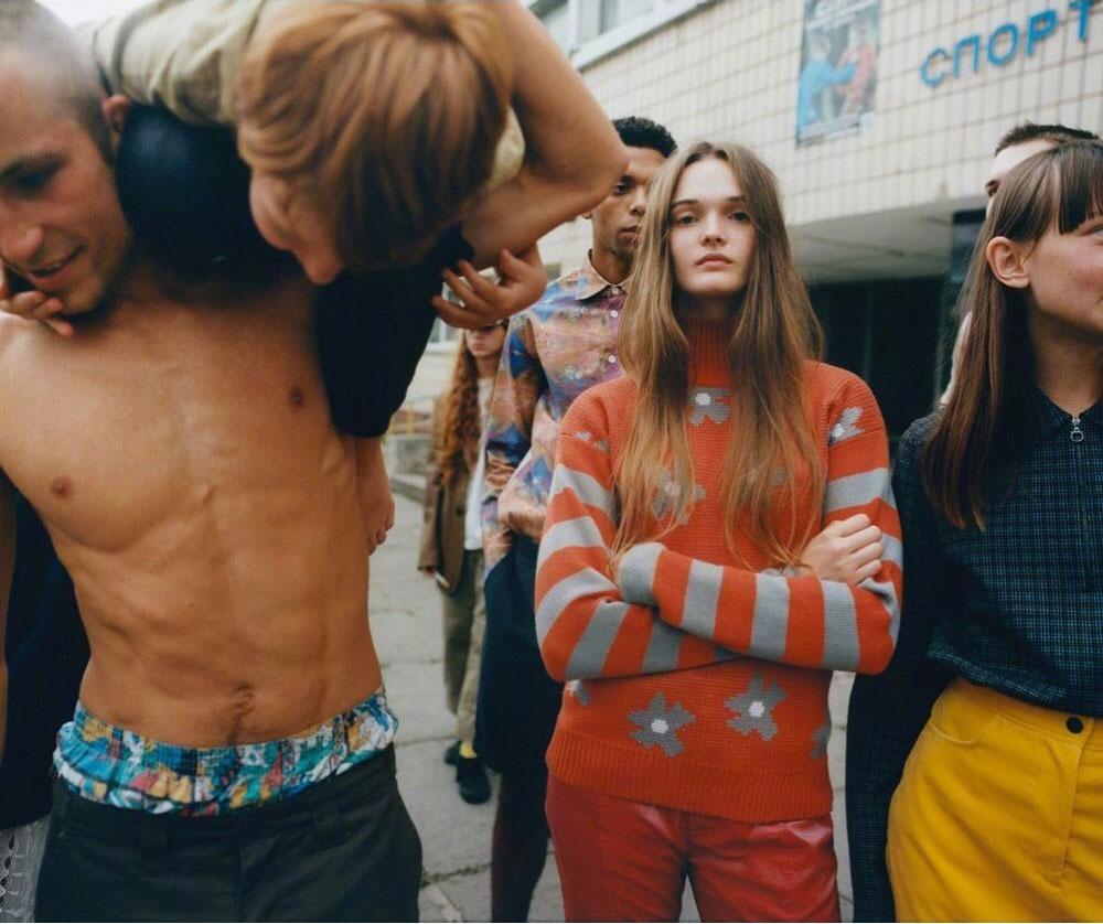 乌克兰版《Vogue》九月刊经典的杂志色调 时尚图库 第13张