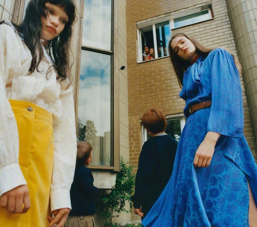 乌克兰版《Vogue》九月刊经典的杂志色调 时尚图库 第7张