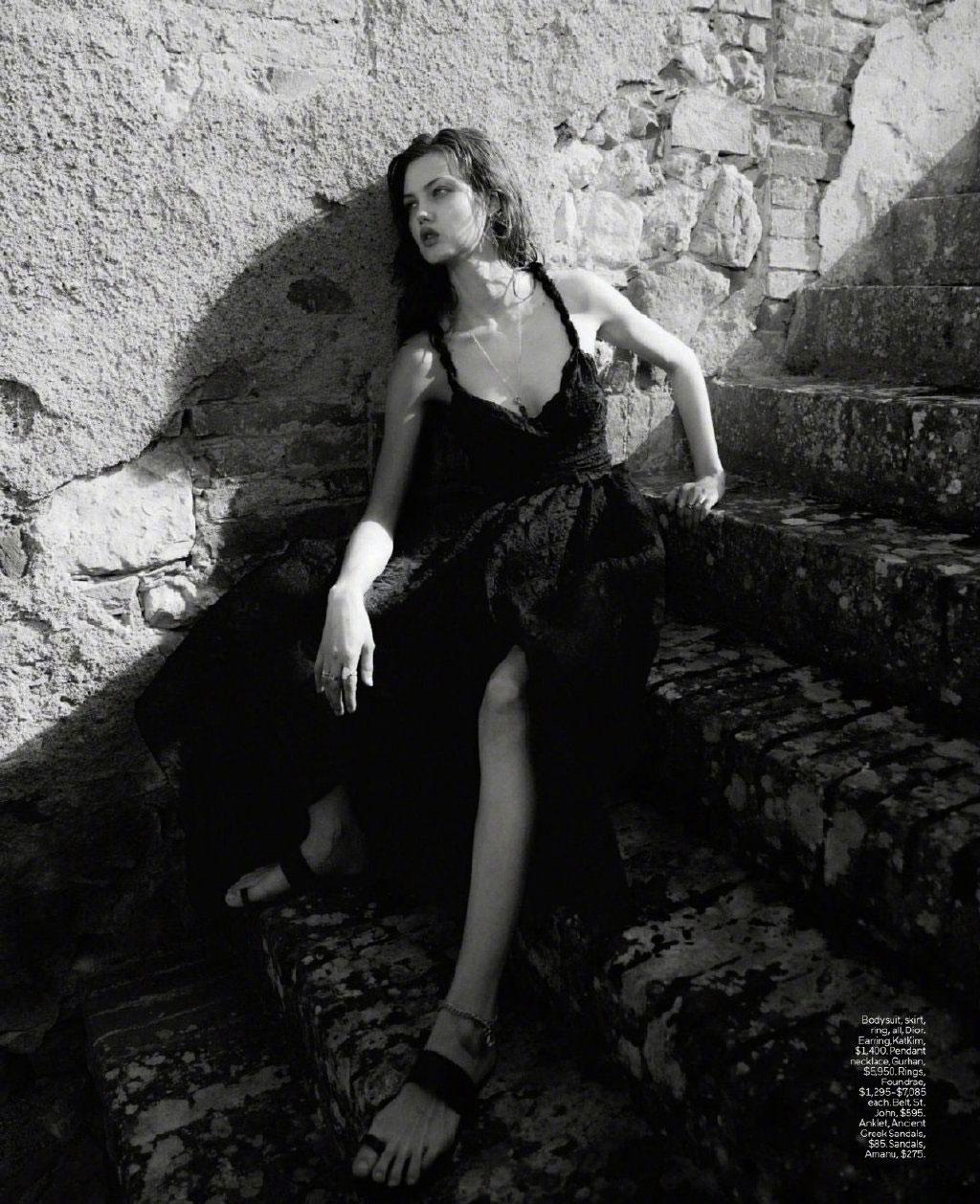 美国版《ELLE》2019年9月刊 浪漫的意大利托斯卡纳之旅. 时尚图库 第8张