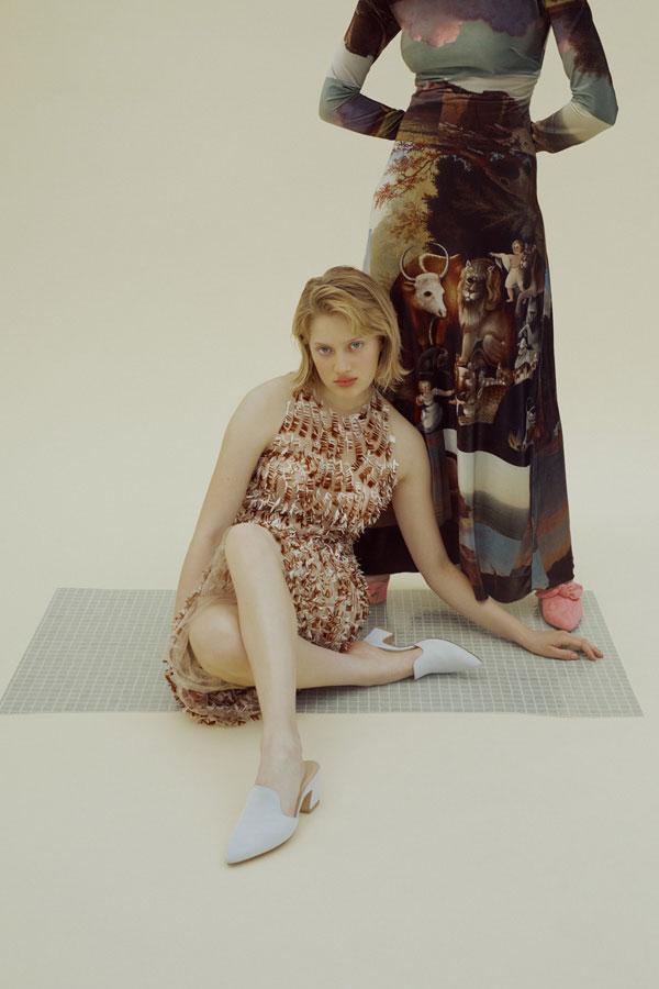 驻法国摄影师Marta Bevacqua人像摄影作品【Sandra Mansour】 时尚图库 第4张