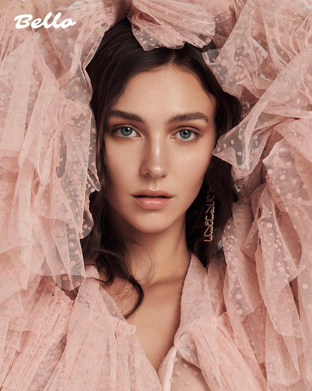 美国摄影师Alena Saz 摄影作品 【bello】杂志人像 时尚图库 第3张
