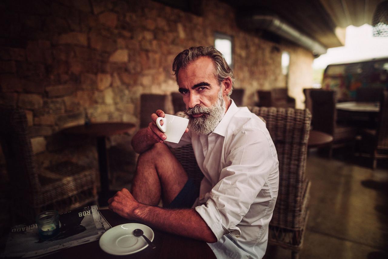 德国摄影师André Josselin 镜头下的运动老人 时尚图库 第9张