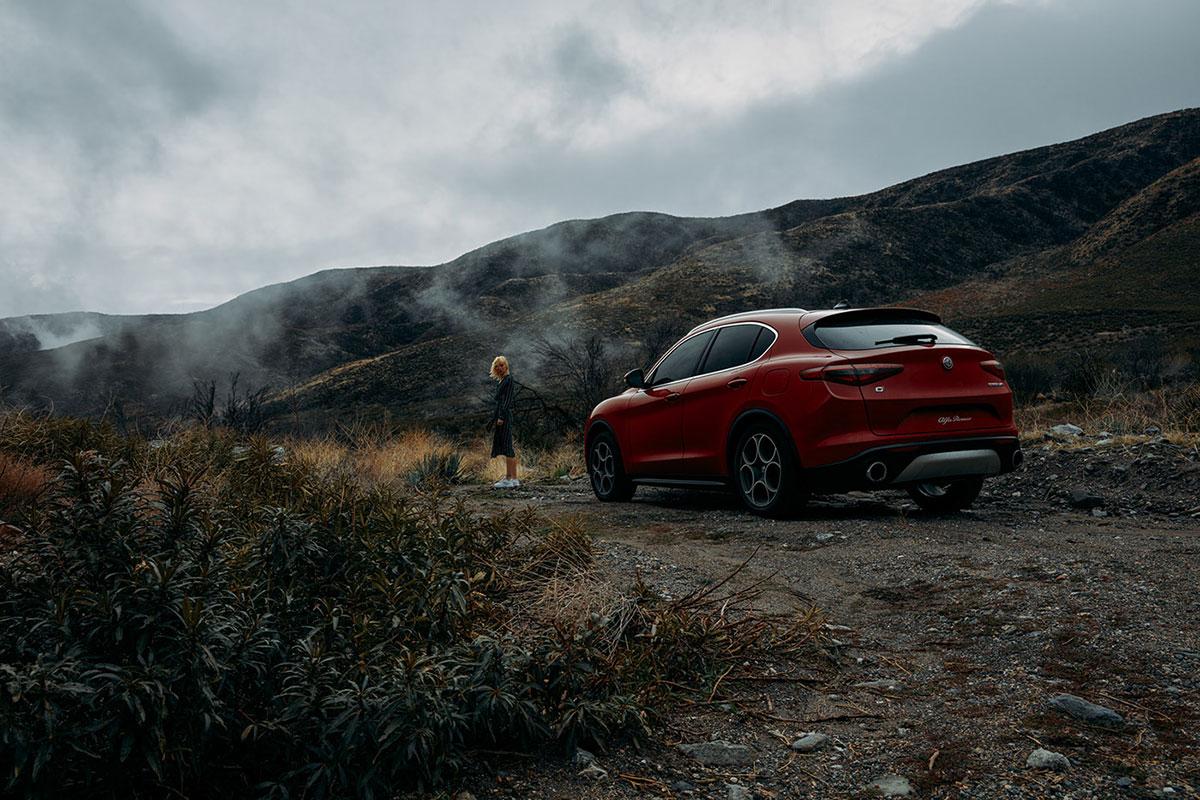 摄影师Dave Hill摄影作品Alfa Romeo Stelvio 审美灵感 第5张