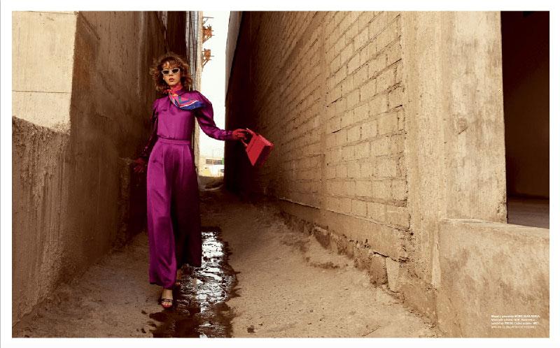 奢侈品旅行杂志摄影作品 外景时尚人像 时尚图库 第12张
