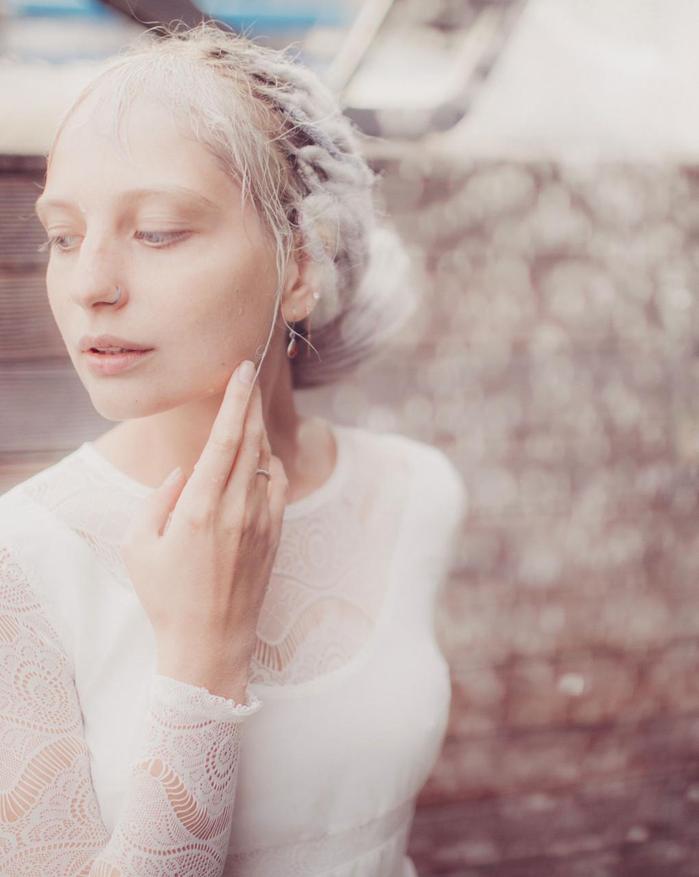 乌克兰摄影Marta syrko 人像摄影作品【blue line】 时尚图库 第1张
