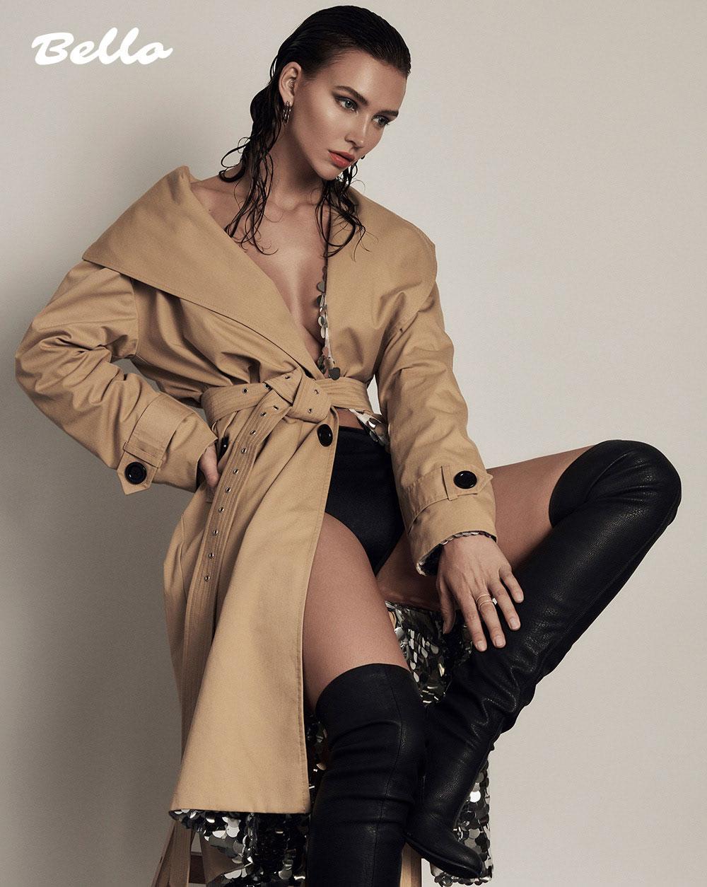 美国摄影师Alena Saz 摄影作品 【bello】杂志人像 时尚图库 第2张