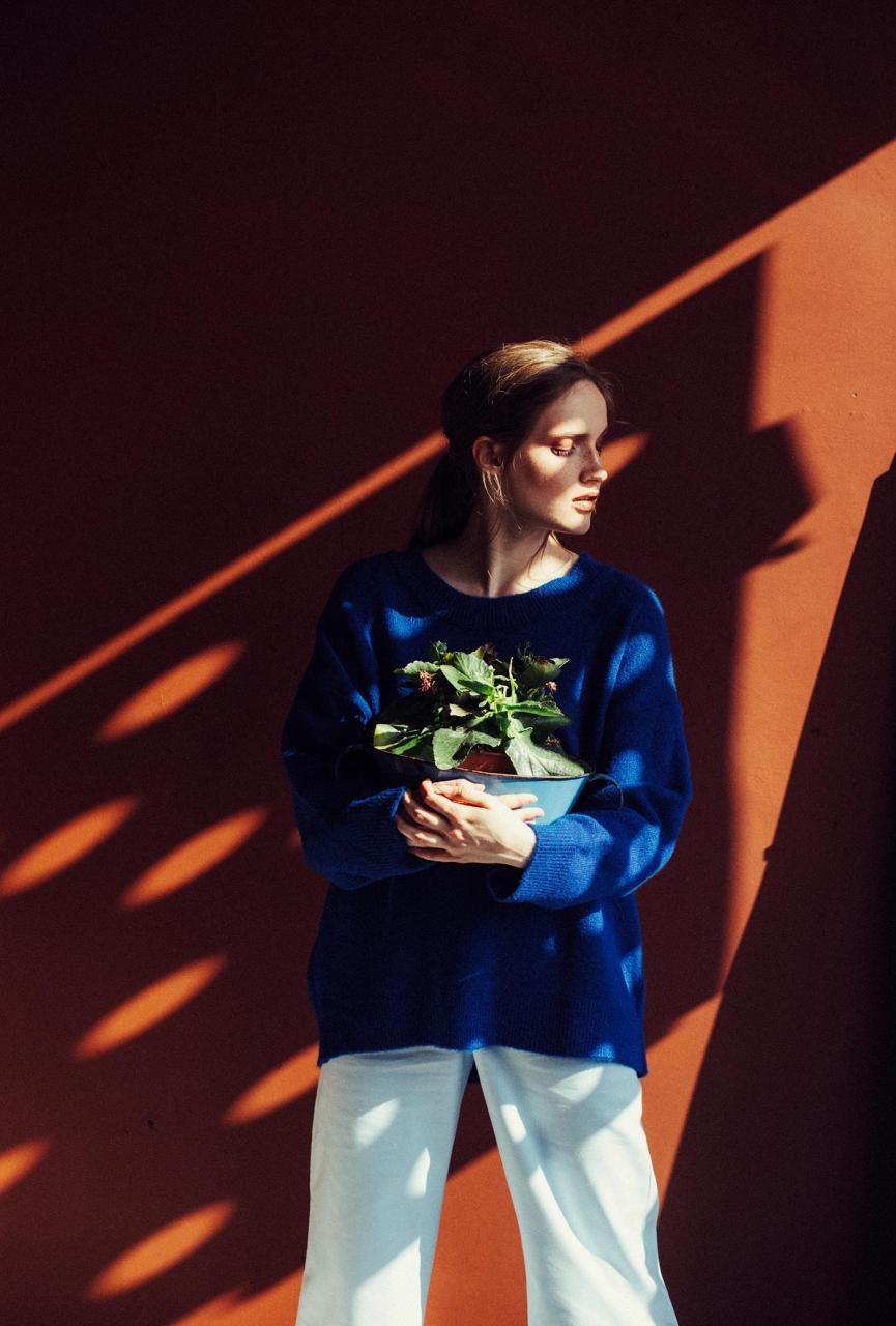 marta syrko 蓝色主题人像摄影作品 审美灵感 第6张