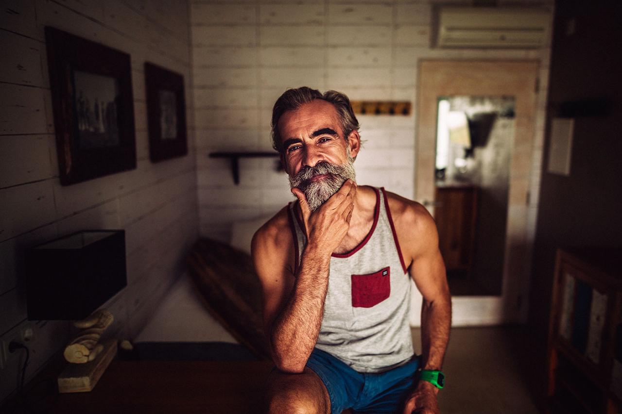 德国摄影师André Josselin 镜头下的运动老人 时尚图库 第8张