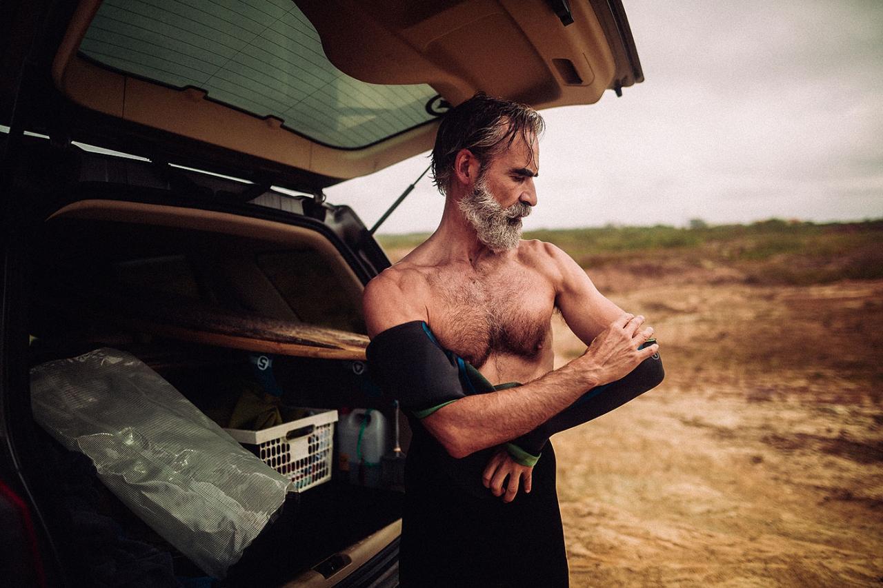 德国摄影师André Josselin 镜头下的运动老人 时尚图库 第5张