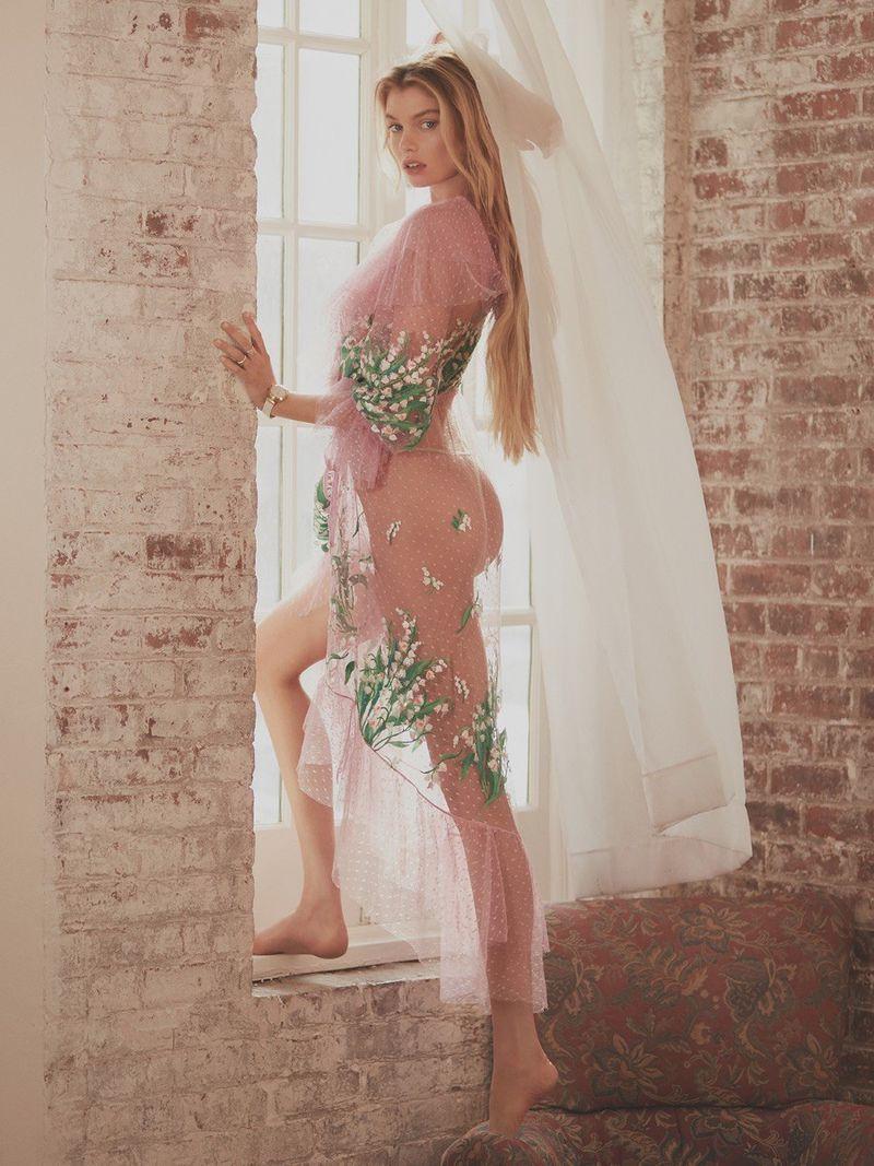 Issue杂志 2018年四月刊摄影作品 超模Stella Maxwell出镜 审美灵感 第11张