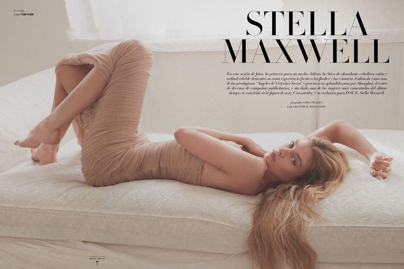 Issue杂志 2018年四月刊摄影作品 超模Stella Maxwell出镜 审美灵感 第3张