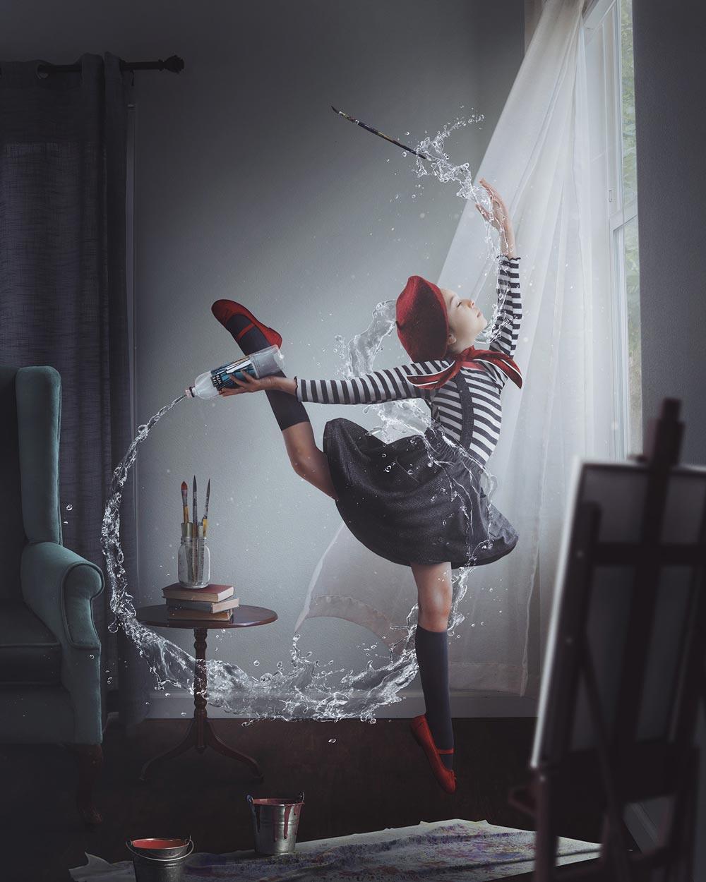 Vanessa Rivera 创意合成人像系列作品 时尚图库 第7张