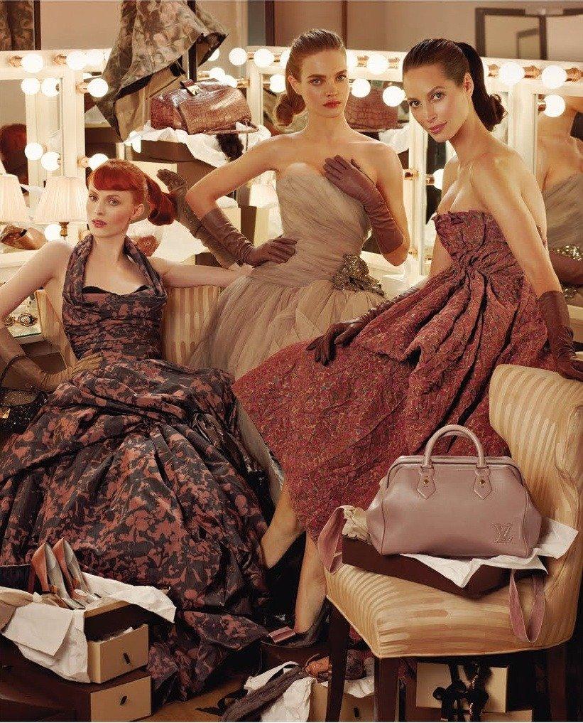 Louis Vuitton 的广告摄影 时尚图库 第5张